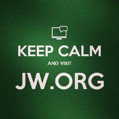 Mantén la calma y visita JW.ORG