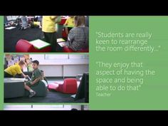 Flexible learning spaces afford many teaching and learning opportunities. The Balwyn Primary School community share the benefits of their flexible learning s. 21st Century Schools, 21st Century Classroom, 21st Century Learning, Learning Spaces, Learning Environments, Learning Centers, Learning Activities, Modern Classroom, Classroom Design