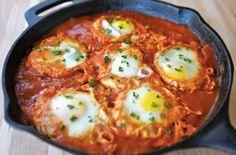 Шакшука — еврейская яичница | ПП рецепты