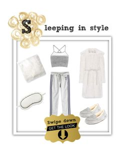 """""""Sleeping in style #LovelyLoungewear"""" by mullemullr on Polyvore featuring LNDR, UGG, Markus Lupfer, Shrimps, Forever 21, Chelsea28 and LovelyLoungewear"""
