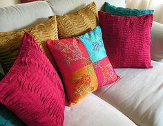 Bold Statement Pillows