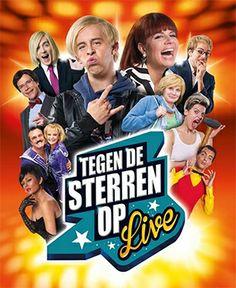 Show Tegen De Sterren Op Live - Tickets Sherpa.be -  Op 1 en 2 maart 2014 in Antwerpen !  http://www.sherpa.be/nlBE/Familie/Theater/Tegen-De-Sterren-Op-Live/
