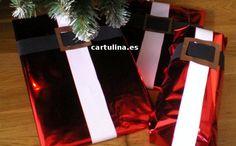 http://cartulina.es/como-envolver-regalo-de-navidad/ Como envolver regalos de Navidad paso a paso