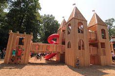 Jamie Bell Adventure Playground Castle, High Park | Janet Rosenberg and Studio