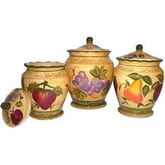 kitchen canister sets -