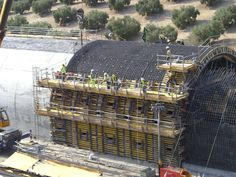Tunnel for AVE high-speed train near Antequera