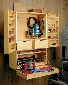 Router Bit Cabinet | Woodsmith Plans