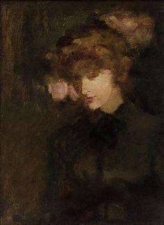Portrait of the Artist's First Wife, nee Ellen Cobden (Walter Sickert)