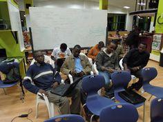 Kenyan Developers at the Kipokezi Apps Challenge..
