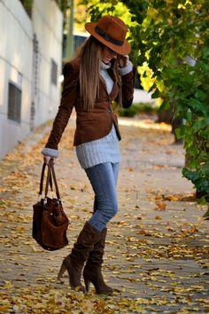 LOLA MANSIL Fashion Diary: FRIO DE OTOÑO