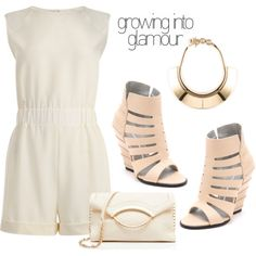 Growing Into Glamour - How to Rock A Romper Outfit Idea 2017