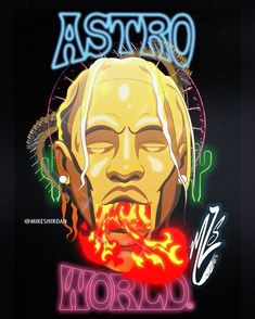 """d929bdb2ad5 Mike Shirdan on Instagram  """"What s your favorite track off  AstroWorld   🚀🎢🎡 Share with someone you think would like this. I m loving this album  so far."""