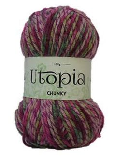Utopia Chunky - Harlow Carr - variegated 100g ball - Various other colours available by Alisonsyarntastics on Etsy https://www.etsy.com/uk/listing/517552233/utopia-chunky-harlow-carr-variegated