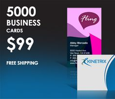 #PrintEarly  5000 #BusinessCards just $99 See more details here http://printearly.com/