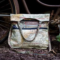 Tim Holtz Fabric Eclectic Elements EXPEDITION TOTE KIT KITTBTH Preview Image