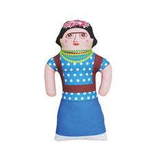 Frida Kahlo Doll  Limited Edition by lategreats on Etsy