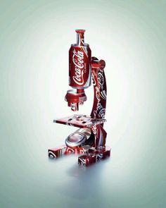 Coca Cola microscope...LC