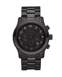 Michael Kors Men's Chronograph Watch . . . why don't they have this is a women's size?  sad
