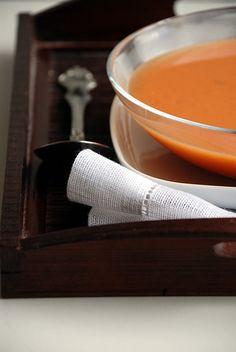 Trufla: Pomidory. Zupa.