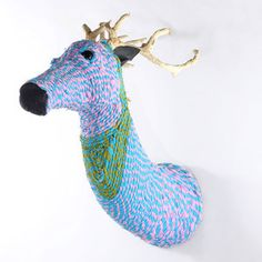 Rope Deer Mount Dominy now featured on Fab.