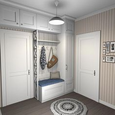 Furnish Your Home In Style With These Furniture Secrets. Buying furniture for your home can be loads of fun or a nightmare. Bedroom Closet Design, Interior Design Living Room, Bedroom Decor, Home Entrance Decor, Entryway Decor, Home Decor, Hall Wardrobe, Entry Closet, Entrance Hall