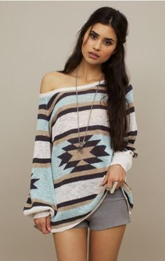 tribal sweater love