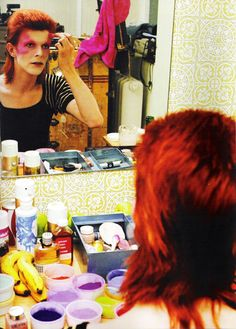 David Bowie DRESSING ROOM