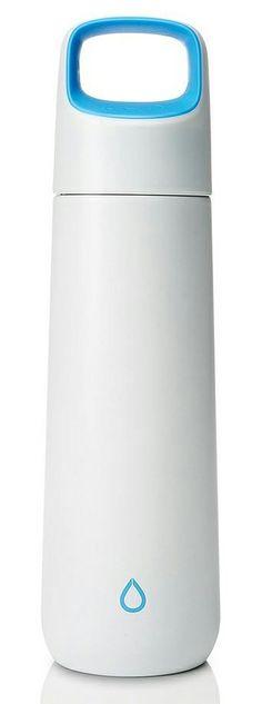 KOR Vida water bottle // white & blue #product_design #industrial_design