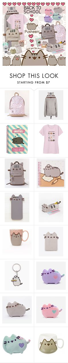 """""""#PVxPusheen"""" by stylect ❤ liked on Polyvore featuring Pusheen, Gund, polyvorecommunity, contestentry and PVxPusheen"""