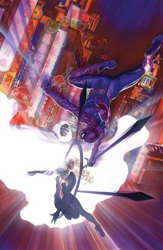 Amazing Spider-Man #7 by Alex Ross *