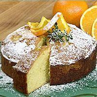 Påskekake med appelsin -