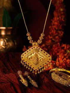 Indian temple jewellery