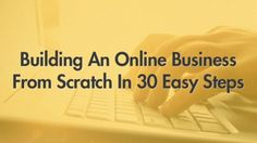 Building An Online Business From Scratch In 30 Easy Steps  Hey Everyone, I have just released a course on Udemy about creating an online business for making passive income online - Over 31 lectures and 2.5 hours of content! It's free for you guys,  ************** free access coupon is: pinmetoo   I will really appreciate it if you take a few seconds and post there a review