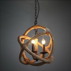 Pendant+Lights+,+Traditional/Classic/Rustic/Lodge/Vintage/Retro/Country+Living+Room/Bedroom/Dining+Room/Study+Room/Office/Hallway+Metal+–+EUR+€+113.77
