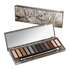 Eye Makeup: Urban Decay Naked Smoky Eyeshadow Palette