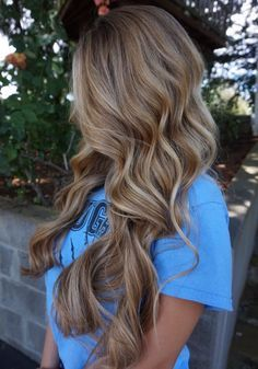 This is the perfect dirty blonde for me.   Love the lowlights.  Wish my hair was this long!  Let us find this hair only shorter.  And then of course I will follow up with a human hair wig.  Just as beautiful, if not more!  xoxo