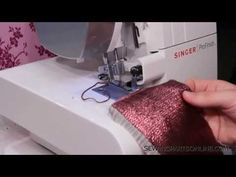 How to Serge a Rolled Hem