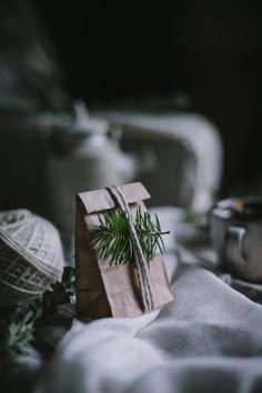 Foraged Fir Tip Tea DIY Gift by Eva Kosmas Flores | Adventures in Cooking