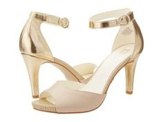 Anne Klein Opalize (Light Gold Leather) High Heels