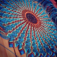 Awesome circular macrame