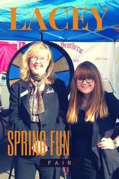 Our team at the Lacey Spring Fun Fair 2014!