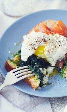 Hotelliaamiainen kotona: täydelliset kananmunat | Maku My Cookbook, Home Food, Sandwiches, Mad, Breakfast, Recipes, Koti, Style, Eggs