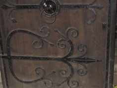 very old Cathedral door