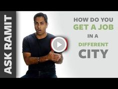 Ask Ramit: How do you get a job in a different city?