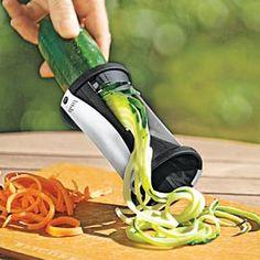 Spiral Slicer, Julienne Vegetables, Kitchen Peeler | Solutions