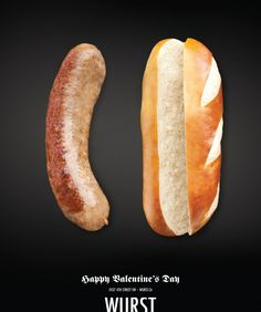 Valentine's Day is here and most marketers and designers could use some inspiration. Here are the 25 most creative Valentine's Day Ads Design Valentine Day Special, Happy Valentines Day, Funny Valentine, Valentine Gifts, Things That Go Together, Ad Of The World, Best Ads, Creative Advertising, Advertising Ideas