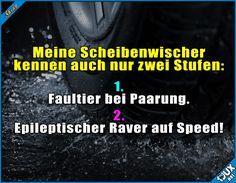 Entweder zu langsam oder viel zu schnell! #Auto #sowahr #Humor #lachen #Sprüche #lustigeBilder #WhatsAppStatus #Statussprüche
