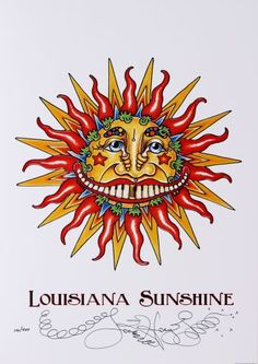 Lousiana Sunsine by Jamie Hayes