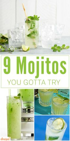 Watch out because everyone's going rogue, creating mojito recipes in all kinds of rule-breaking variations. And we love it. Here are some of our favorite fresh takes on this classic summer cocktail.