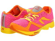 Newton Running Women's Distance U women's running shoes Pink/Orange